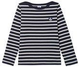 Petit Bateau Unisex Breton top in heavyweight jersey