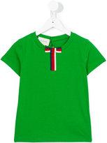 Gucci Kids - bow detail T-shirt - kids - Cotton - 4 yrs