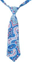 Peppercorn Kids Exotic Paisley Necktie-Mediterranean Blue-S-M