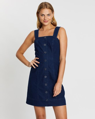 Review Miranda Denim Pinny Dress