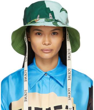 Loewe Blue Ken Price Edition Easter Island Fisherman Hat