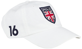 Polo Ralph Lauren Great Britain Classic Sports Cap, One Size, White