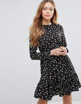 Yumi Long Sleeve Tea Dress