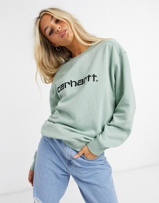 Carhartt Wip sweatshirt with embroidered chest logo