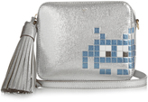 Anya Hindmarch Space Invaders leather cross-body bag