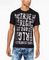 True Religion Men's Metallic Logo-Print T-Shirt