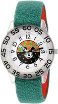 Disney Boy's 'Mickey Mouse' Quartz Plastic and Nylon Casual Watch, Color: (Model: WDS000109)