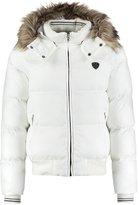 Schott Nyc Winter Jacket White