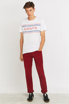 Levi's 511 Sun Dried Tomato Corduroy Slim Fit Trousers