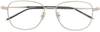 Montblanc Gold Wireframe Glasses