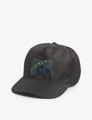 Givenchy Logo-print satin cap