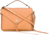 Rebecca Minkoff string applique shoulder bag - women - Leather - One Size