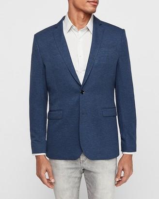 Express Slim Luxe Comfort Knit Blazer