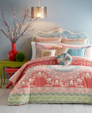 Jessica Simpson Amrita Medallion 3-pc King Comforter Set