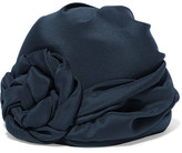 Gucci Knotted Silk Turban - Navy