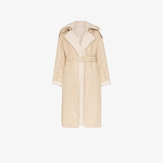 Low Classic Cotton Belted Trench Coat