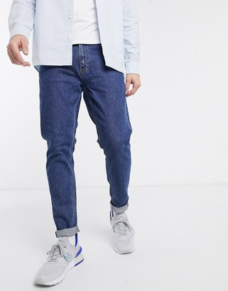 Weekday Cone slim tapered jeans in blue