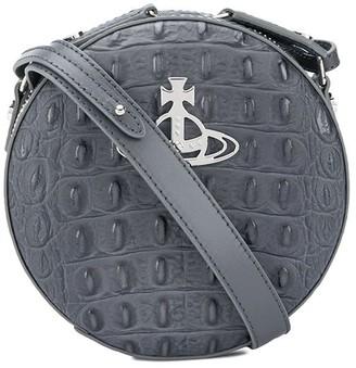 Vivienne Westwood Croc-Effect Circle Bag