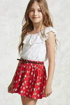 Forever 21 Girls Daisy Circle Skirt (Kids)