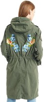 Gap Embroidered canvas anorak