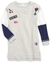 C&C California Girl's Embellished Sweatshirt Dress