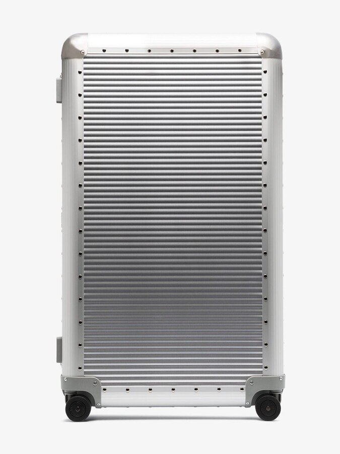 Thumbnail for your product : FPM Milano Silver Bank S Spinner 84 Check-In Suitcase