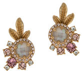 Marchesa Floral Clustered Earrings