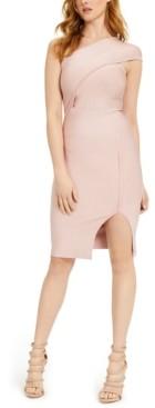 GUESS Asymmetric Bodycon Dress