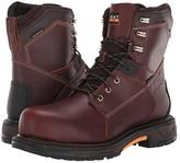 Ariat WorkHog(r) XT 8 Waterproof Carbon Toe (Russet Brown) Men's Work Boots