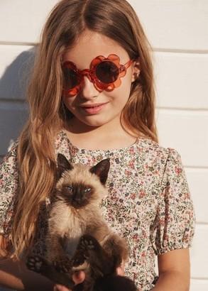 MANGO Flower sunglasses