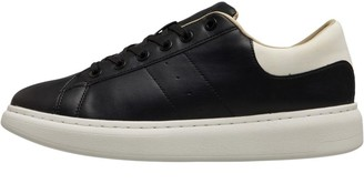 Jack and Jones Mens Liam PU Trainers Anthracite