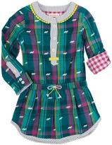 Hatley Winter Fox Bonded Plaid Dress (Toddler, Little Girls, & Big Girls)