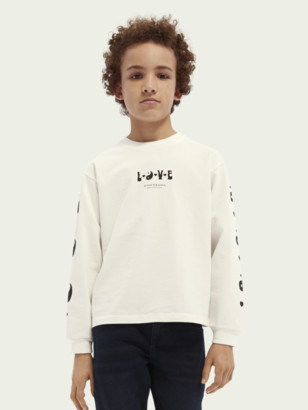 Scotch & Soda Kids unisex long-sleeved T-shirt | Unisex