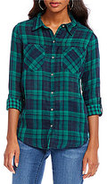 Westbound Two-Pocket Boyfriend Shirt