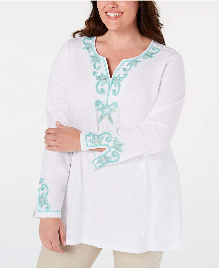 8126cabf24b Charter Club Women's Plus Sizes - ShopStyle