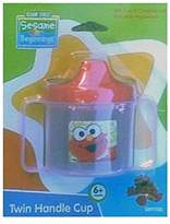Sesame Street Elmo Sippy Cup with 2 Handles - BPA Free