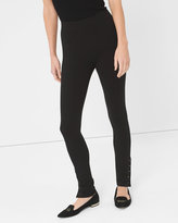 White House Black Market Stud-Detail Leggings