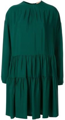 No.21 Flared Zip-Up Dress