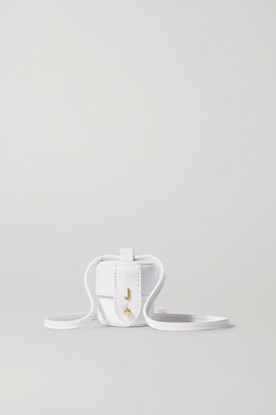 Jacquemus Le Micro Vanity Mini Leather Shoulder Bag - White
