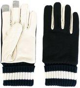 Comme des Garcons bi-colour gloves