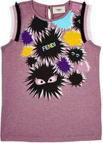 Fendi MONSTERS GRAPHIC TANK SIZE 10