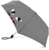 Lulu Guinness Stripy Kooky Cat Tiny Umbrella