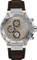 Gc X56005G1S Bold stainless steel and leather watch