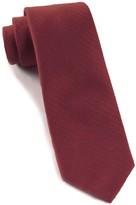 The Tie Bar Burgundy Astute Solid Tie