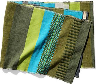 Bole Road Textiles Admas Table Runner - Olive