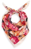 Salvatore Ferragamo Women's Mirage Floral Silk Scarf