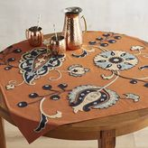 Pier 1 Imports Harvest Paisley Table Topper