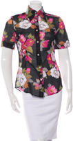 Dolce & Gabbana Floral Button-Up Top