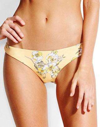 Seafolly Mid Summer Floral Brazilian Bikini Brief