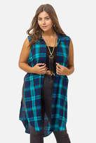 Fashion to Figure Monica Plaid Duster